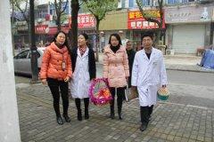 同济暖冬行动 湄长社区看望百岁老人